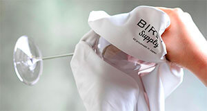 BIRDY.―The story of the development of a glass towel vol.1  Achieving a dramatically comfortable wipe