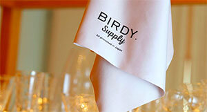 BIRDY.―The story of the development of a glass towel vol.2 Manufacturing spirit inherited from the time of founding