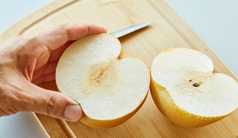 歴史ある梨の産地が誇る大玉の和梨「恵水」