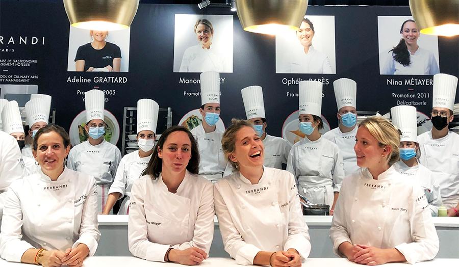 女性の活躍が目覚ましい 食の祭典テイスト・オブ・パリ2021